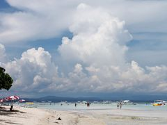 Cloud formation in the summer heat.....Dumaluan Beach, Bohol by <b>francinelb3</b> ( a Panoramio image )