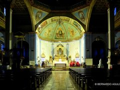 Our Lady of Assumption Church (Se?ora de la Asunci?n), Dauis, P by <b>Silverhead</b> ( a Panoramio image )
