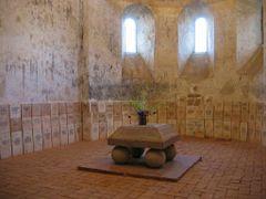 Inside the Cisnadioara church by <b>TravelBadgers</b> ( a Panoramio image )