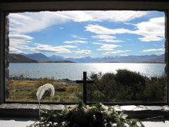 Lake Tekapo (Church of the Good Shepherd) by <b>JuliafromBavaria</b> ( a Panoramio image )
