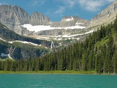 Looking toward Grinnell Glacier and the Continental Divide from  by <b>Jerry Blank</b> ( a Panoramio image )