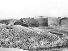 Qala-e-Naw. Калай-Нау. Старенький БТР-60 советских пограничников by <b>Сургуль</b> ( a Panoramio image )