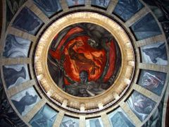 Pintura Mural en la Cupula de la Capilla Mayor denominado el Hom by <b>? ? galloelprimo ? ?</b> ( a Panoramio image )