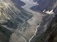 ледник в Алайском хребте by <b>Sergey Bulanov</b> ( a Panoramio image )
