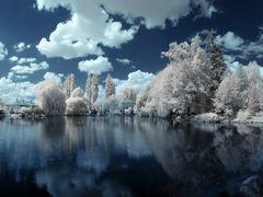 (IR) Lucenec - park by <b>Ladislav Pazdera</b> ( a Panoramio image )