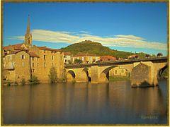St Antonin Noble Val. Tarn et Garonne by <b>kaouyana</b> ( a Panoramio image )