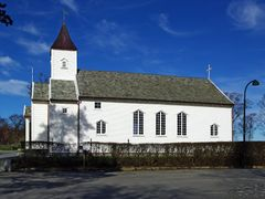 Hausken Church at Vikevag by <b>PerO the Viking</b> ( a Panoramio image )