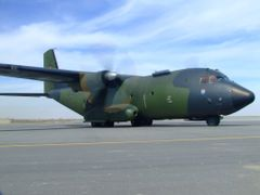 German C-160 at Camp Marmal airport by <b>Andras Furman</b> ( a Panoramio image )