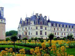 CHENONCEAUX...INDRE et LOIRE...FRANCE. by <b>BORDEAU Alain.(NO VIEWS!)</b> ( a Panoramio image )