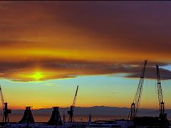 sunset from Genoa by <b>patano</b> ( a Panoramio image )