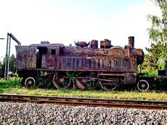 Parna lokomotiva by <b>Dusan Railfan</b> ( a Panoramio image )