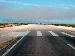 Royal Flying Doctor landing strip, Nullarbor Plain by <b>dirkus49</b> ( a Panoramio image )