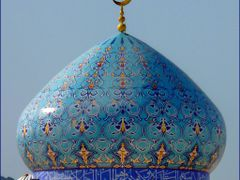 MASQAT mosque dome by <b>patano</b> ( a Panoramio image )