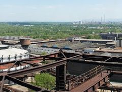 Vitkovice steel panorama with gasholder and blast furnace No. 2 by <b>Jarda1943</b> ( a Panoramio image )
