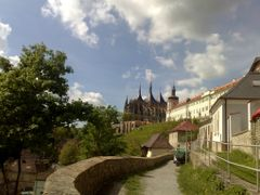 KUTNA HORA - Katedrala  Sv. Barbora + Jezuitska kolej -  UNESCO by <b>DanaSun</b> ( a Panoramio image )