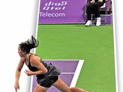 jelena jankovic, Doha-Qatar, Tennis Open by <b>aryaprime</b> ( a Panoramio image )