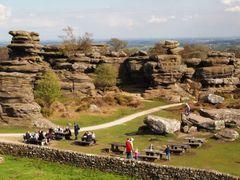 Brimham Rocks by <b>binleeee</b> ( a Panoramio image )