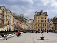 Karlovy Vary  /  Carlsbad by <b>Zabb Csaba</b> ( a Panoramio image )