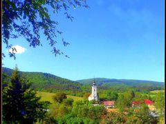 Church in Lehota nad Rimavicou by <b>:-)Fiala(-:</b> ( a Panoramio image )