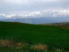 BARGUSHAT ridge from Khndzoresk by <b>Mher Ishkhanyan</b> ( a Panoramio image )