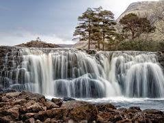 Aasleagh waterfall by <b>Ulrich Greger</b> ( a Panoramio image )