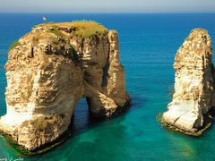 rouche rock(lebanon) by <b>vahid nabiloo</b> ( a Panoramio image )