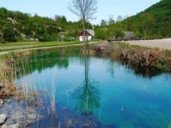 Korana village, Croatia - Beauty of river Korana - spring in Kor by <b>Marin Stanisic</b> ( a Panoramio image )