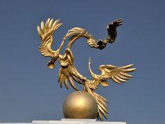 Independence Square, Tashkent, Uzbekistan. by <b>Nicola e Pina Uzbekistan 2011</b> ( a Panoramio image )
