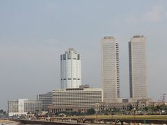 Bank of Ceylon and World Trade Center behind Galadari hotel by <b>Dr.Azzouqa</b> ( a Panoramio image )