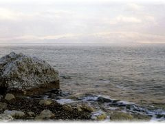 Mar Muerto, en blanco by <b>Pepe Triton</b> ( a Panoramio image )