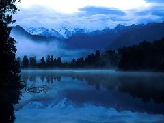 Lake Matheson by <b>Andreas Minich</b> ( a Panoramio image )