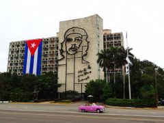 Plaza de la Revolucion en La Habana Cuba by <b>silgab</b> ( a Panoramio image )