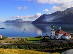 Downtown Unalaska by <b>MarcusAlden</b> ( a Panoramio image )