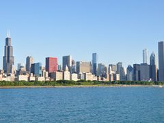 Chicago skyline - partial by <b>Antoine Jasser</b> ( a Panoramio image )