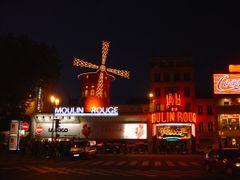 Paris, le Moulin Rouge by <b>Lloret</b> ( a Panoramio image )