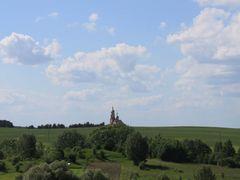 Церковь Николая Чудотворца в деревне Чисть by <b>grinsergey</b> ( a Panoramio image )