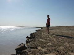 Мальчик на берегу by <b>Fayzulla Matkurbanov</b> ( a Panoramio image )
