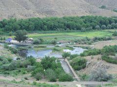 У    водохранилища Азат /   near     Azat reservoir  by <b>Arthur Igityan</b> ( a Panoramio image )