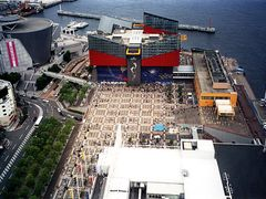 Osaka Aquarium from Big Wheel by <b>Martin Parker</b> ( a Panoramio image )