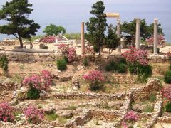 Byblos - colonnato romano by <b>maremagna</b> ( a Panoramio image )