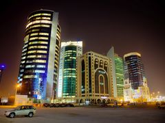 Al Jazi tower and neighbours by <b>S?ren Terp</b> ( a Panoramio image )