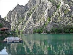 Beautiful canyon of Matka / Skopje - USKUP / MACEDONIA by <b>Ahmet Bekir</b> ( a Panoramio image )