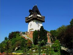 Clock Tower Graz . Schlossberg, Sackstrasse 32, 8010 Graz, Auszt by <b>©  Imre Lakat</b> ( a Panoramio image )