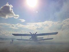 An-2,Gryzliny lotnisko by <b>maVic</b> ( a Panoramio image )