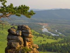 камень над Селенгой by <b>veet_u</b> ( a Panoramio image )