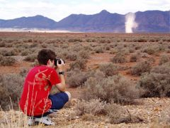Myself photographing the wonders of nature by <b>Andrew Spargo</b> ( a Panoramio image )
