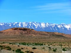 Contraste Africain : Steppe  et plateau aride. En arriere plan,  by <b>elakramine</b> ( a Panoramio image )