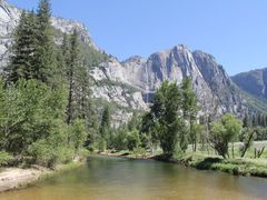 Merced River  Yosemiti National Park by <b>Michael  ??</b> ( a Panoramio image )