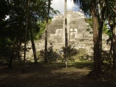 """BELIZE: LAMANAI: """"The High Temple"""" [Temple N10-43] by <b>Douglas W. Reynolds, Jr.</b> ( a Panoramio image )"""