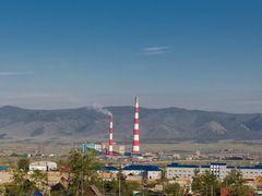 Гусиноозерская ГРЭС Gusinoozerskaya TPP by <b>dimmis</b> ( a Panoramio image )